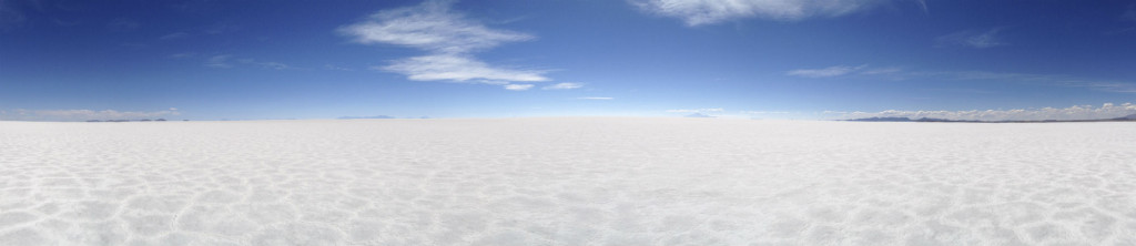 Uyuni Salt Flat is the largest in the world