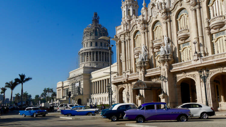 Capital Building and Opera House in Havana, Cuba
